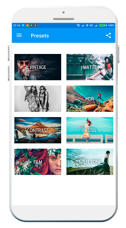 Free App With DNG Presets For Mobile Lightroom – Download